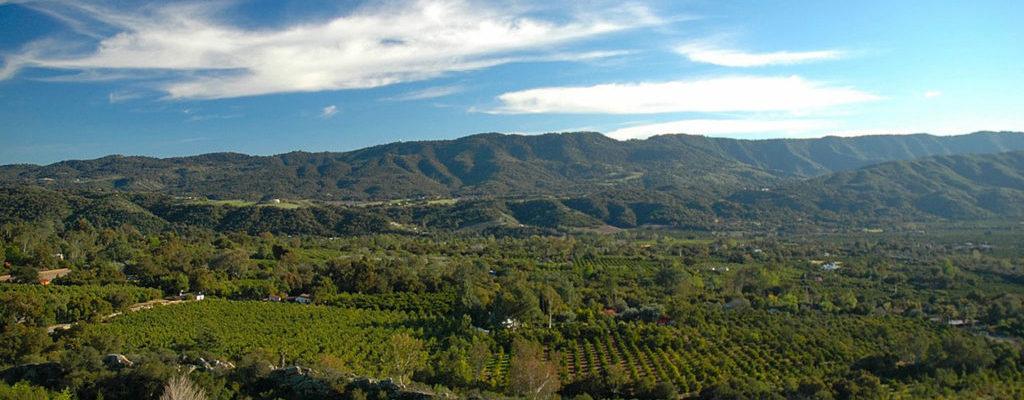 Ojai,Ca Mountain Range - Header Image